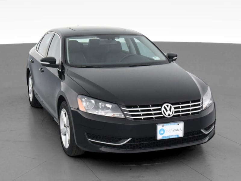 2013 VW Volkswagen Passat sedan TDI SE Sedan 4D Black  15