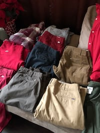 Clothes pants shirts jackets sweaters  Baltimore, 21206