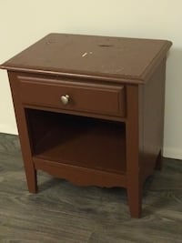 Night stand - painted Brown - wood Hilo, 96720