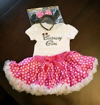 MINNIE MOUSE 1ST BDAY OUTFIT Modesto, 95356
