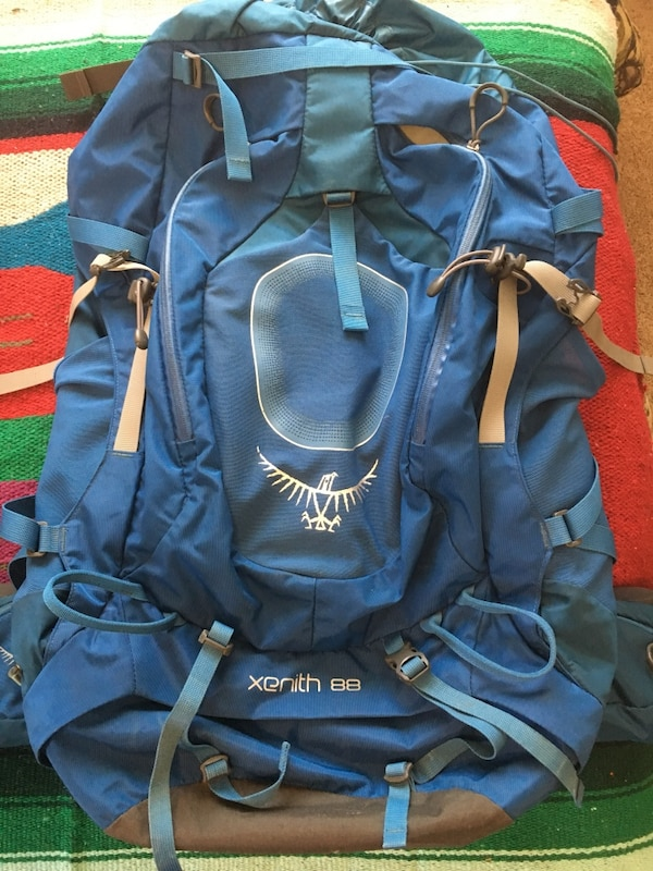 Used Osprey xenith 88 backpack size M for sale in Bellingham - letgo d8c6e9702b727