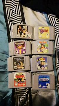 N64 games Andover, 55304