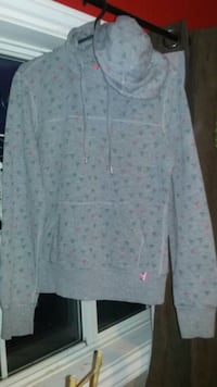 white and pink floral long-sleeved dress 581 km