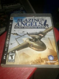 Used ps3 blazing angels 2 secret missions of wwll Toronto, M3C 1E8