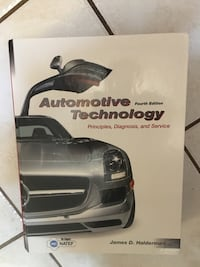 Automotive technology fourth edition principles diagnosis and service Baltimore, 21236