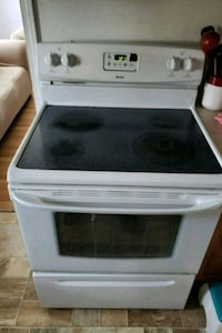 white and black induction range oven Tacoma, 98404