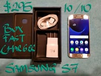 AMAZING  Samsung Galaxy S7 SILVER+box+FastCharger Beaconsfield, H9W 5S3