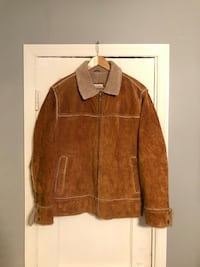 M. Julian Real suede coat size Medium  46 km