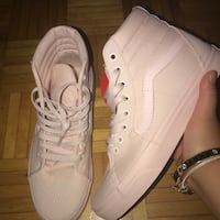 Vans high tops light pink  Toronto, M3M 3C5