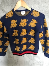 Gucci Bear Intrasia Sweater size 8