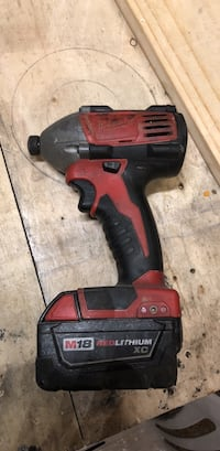 Milwaukee m18 impact and batter 46 km