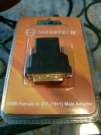 HDMI female to DVI mail Adapter