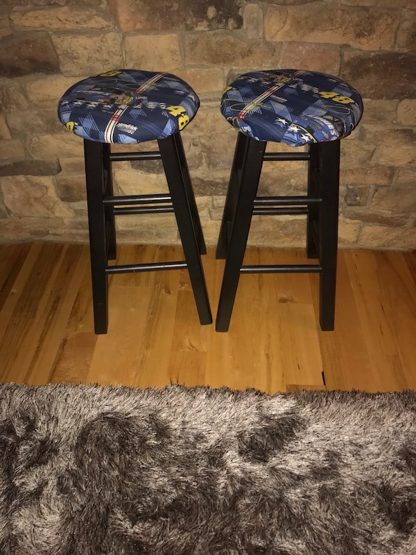 Strange Nascar Bar Stools Gmtry Best Dining Table And Chair Ideas Images Gmtryco