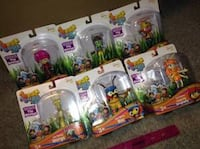 ~BRAND NEW~ BEAT BUGS theme KUMI And five friends Sold as a LOT 991 mi