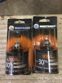 2 brand new GE Nighthawk 9004 automotive headlight bulbs, 30% more light than stock! Port Coquitlam, V3B