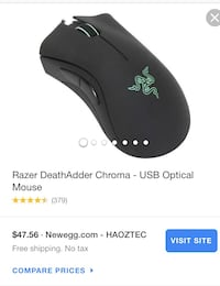 Razer Deathadder chroma gaming mouse  Bowie, 20720