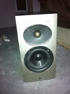 gray 2-hole bass speaker
