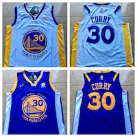 Golden State Warriors Curry Basketball Jersey  Los Angeles, 91405