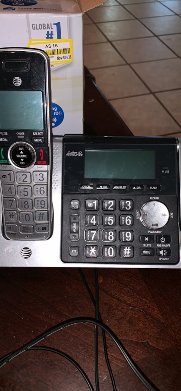 Panasonic and at&t wireless phones all together 695511e6-0739-4237-a2f9-1eca3a199642