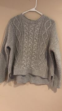 Gray, Forever 21 cropped sweater South Portland, 04106