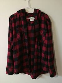 TNA Black and red flannel shirt Port Coquitlam, V3B