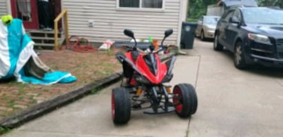 Three wheel reverse trike motorcycle street legal 75mph