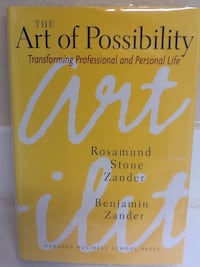 THE ART OF POSSIBILITY Book - Personal Business Self Help Las Vegas, 89119