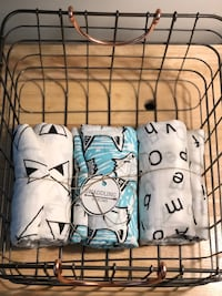 100% Cotton Muslin Swaddling Blankets.  Indianapolis, 46250