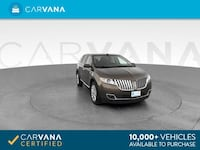 2011 Lincoln MKX suv Sport Utility 4D BROWN