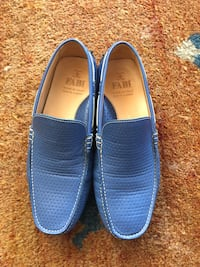 Fabi blue loafers moccasins Los Angeles, 90044