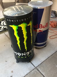 Coolers (Red Bull and Monster)