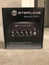 Sterling 4-channel Headphone amp Gainesville, 20155