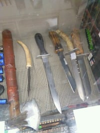 Hand made custom knives Forest, 39074