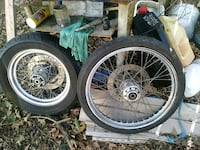 four gray bicycle wheels with tires Portsmouth, 23701