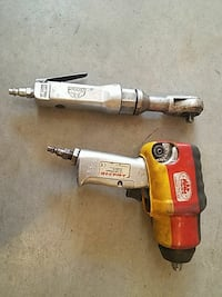 red and grey air air impact driver and air ratchet Thornton, 80241