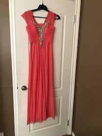 women's red sleeveless dress Calgary, T2A 4Y9