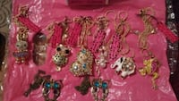 assorted color beaded necklace lot Chalmette, 70043