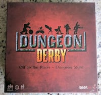 Deluxe Dungeon Derby - Family Friendly Strategy Board Game Sterling Heights, 48310