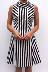 women's white and black stripe sleeveless dress Arlington, 22204