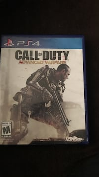 Call of Duty Advanced Warfare PS4 game case Los Angeles, 90011