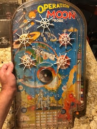 Vintage  tabletop pinball game Operation Moon Probe good condition... Rahway, 07065