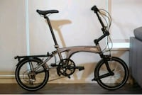 Ori m9 folding bike - 9 speed - 16 in wheels North Vancouver, V7P 3S1
