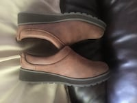 pair of brown leather shoes Santa Rosa, 95409