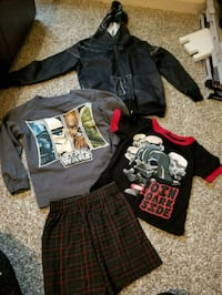 BOYS 4 PIECE STAR WARS LOT SIZE 4/4T Simpsonville, 29680