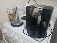Tassimo (Bosch) coffee maker and carousel