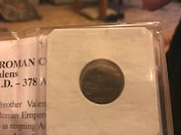 Imperial roman coin valens