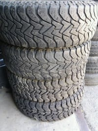 4 Goodyear tires 245/75/16 Clinton, 20735