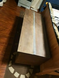 Sold barn wood storage bench Edmonton, T5E 6C2
