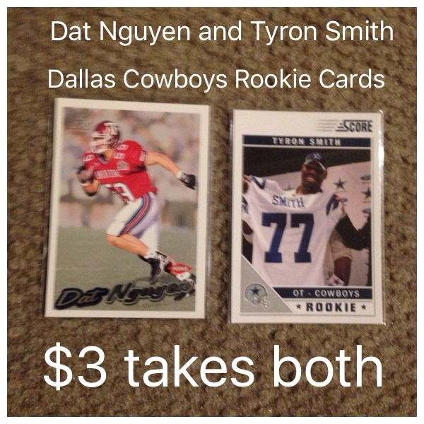 best service 00bb2 defb3 Dat Nguyen and Tyron Smith Dallas Cowboys Rookie cards $3 takes both