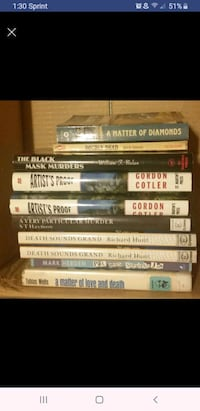 Murder mystery books Canyon County, 83687
